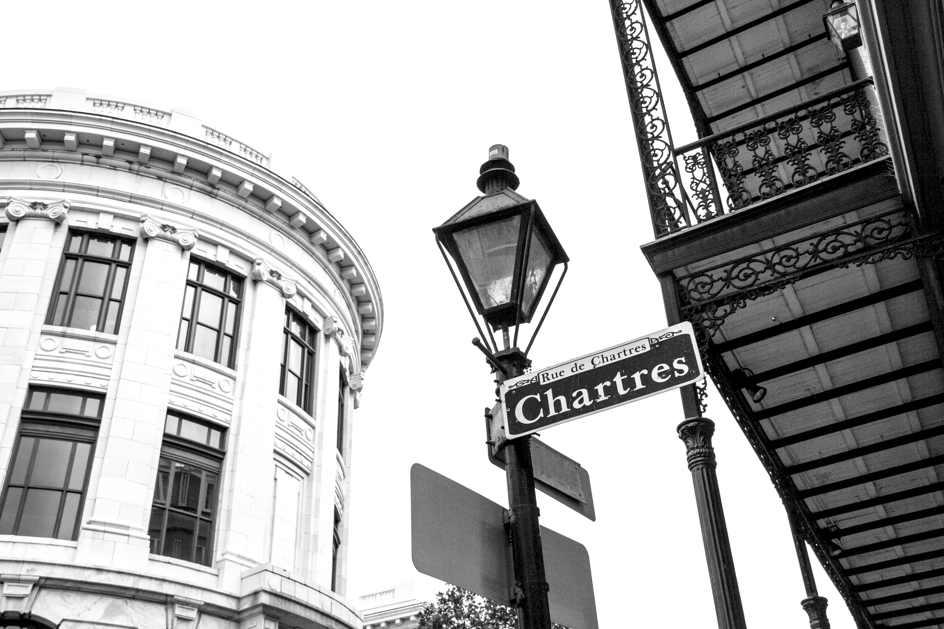 Chartres street, New Orleans