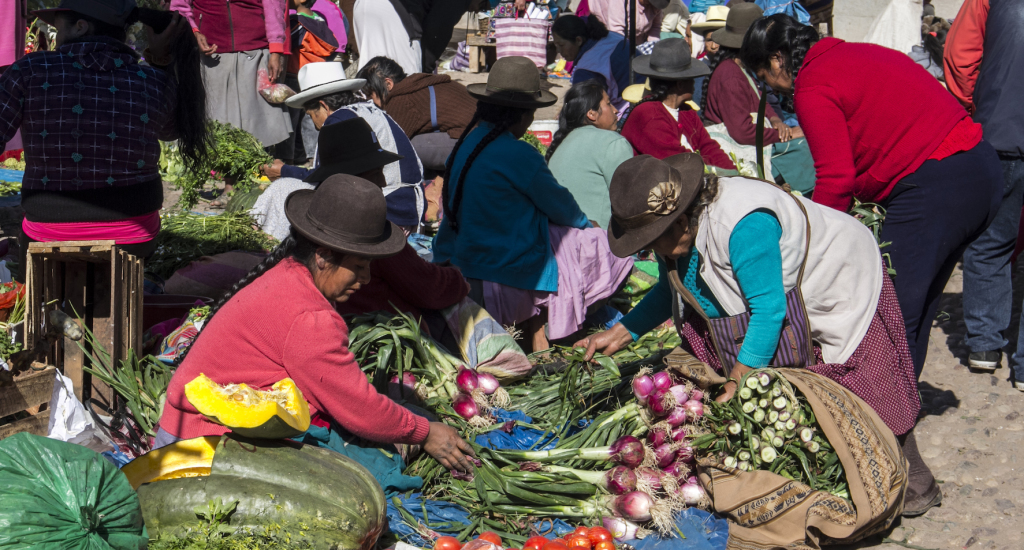 The Market in Pisac