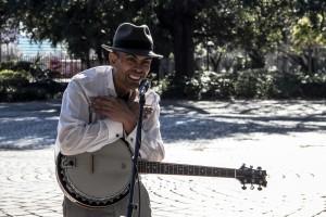 The Preacher In Louis Armstrong Park